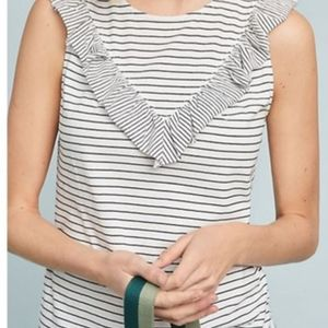 Anthropologie - Maeve - Striped Tank Top Frills